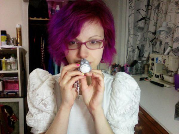 Тоника фиолетовая для волос