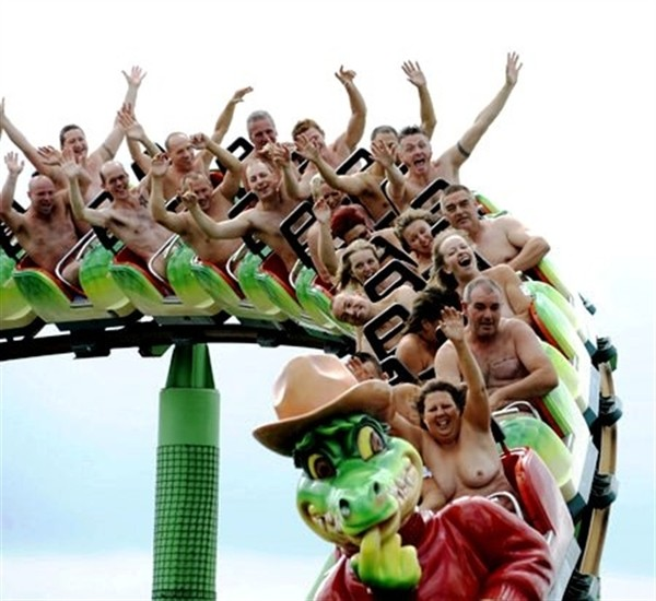 Nude roller coaster pictures