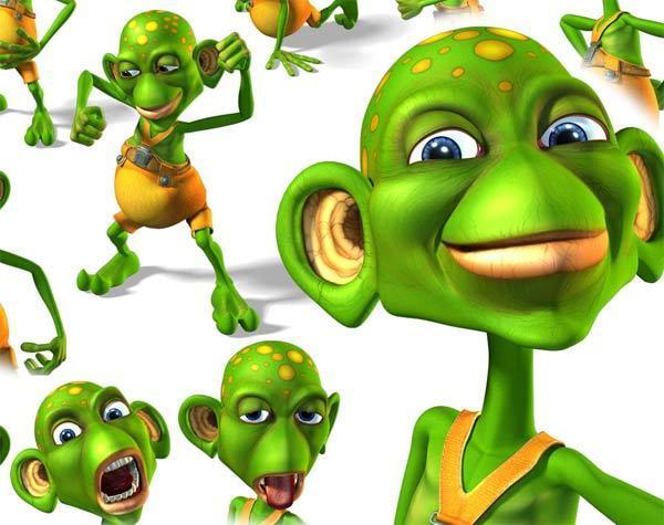 Головоломки надписями, прикольные картинки зеленые человечки