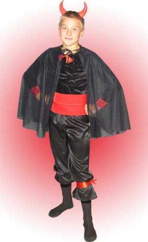 Как сделать костюм чёрта фото 557