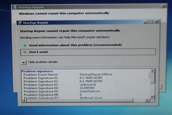 Windows 7 system file repair