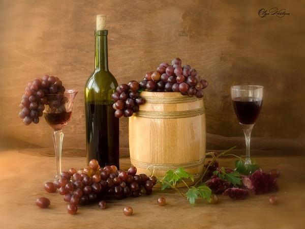 Виноградное вино фото рецепт