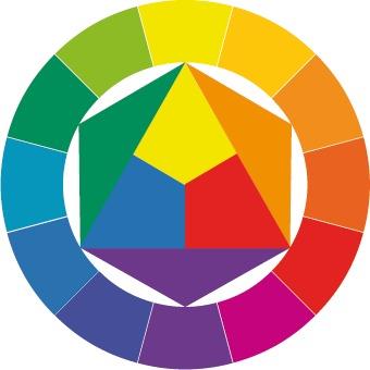 Противоположный цвет фиолетовому