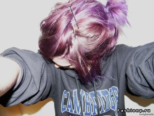 Необычные краски для волос