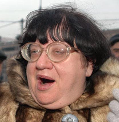 баба в очках