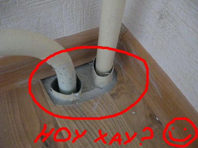 чем закрыть отверстие в стене вокруг трубы