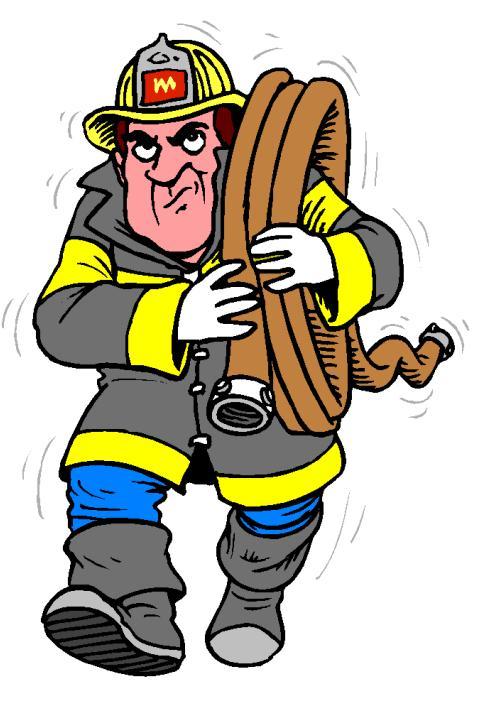 Приколами картинках, картинка анимация пожарный