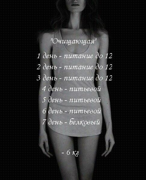 Отзывы О Диете Анорексичек. Диета анорексичная нимфа — как похудеть на 5-7 кг за 1 неделю
