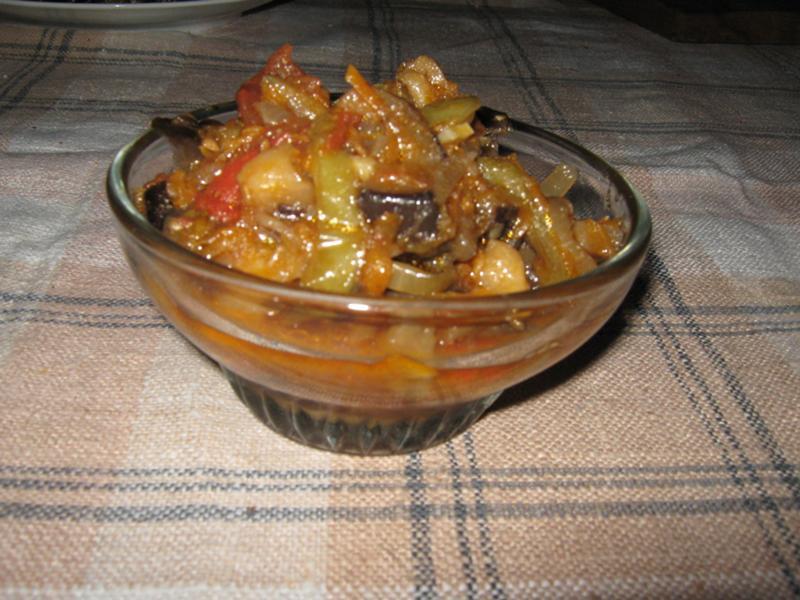 Манжо из баклажанов рецепт с фото