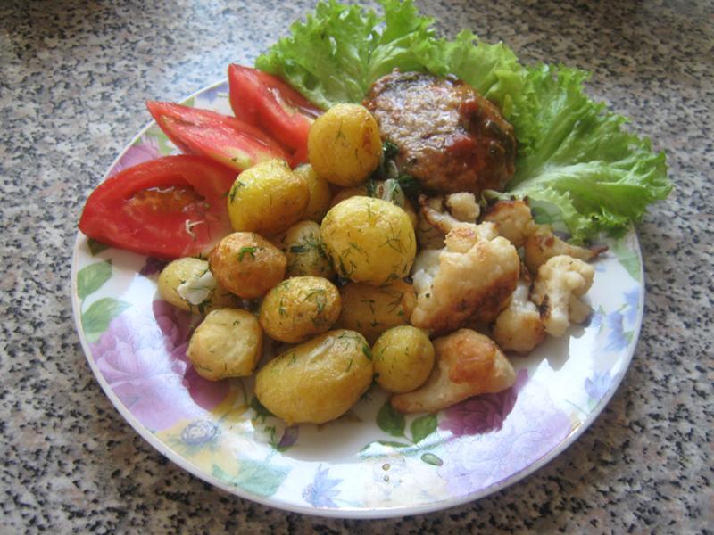 блюда из мелкой картошки рецепты с фото