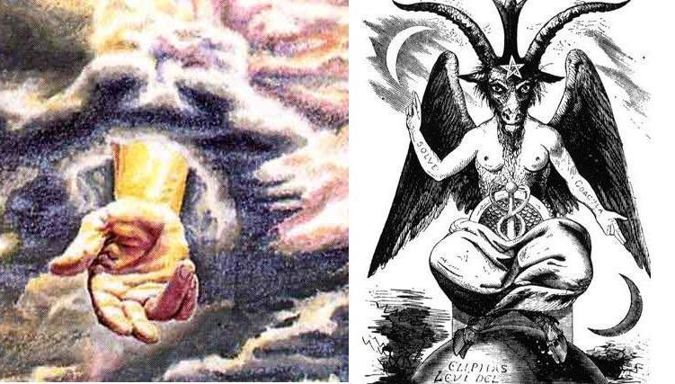 Поклонение дьяволу картинки