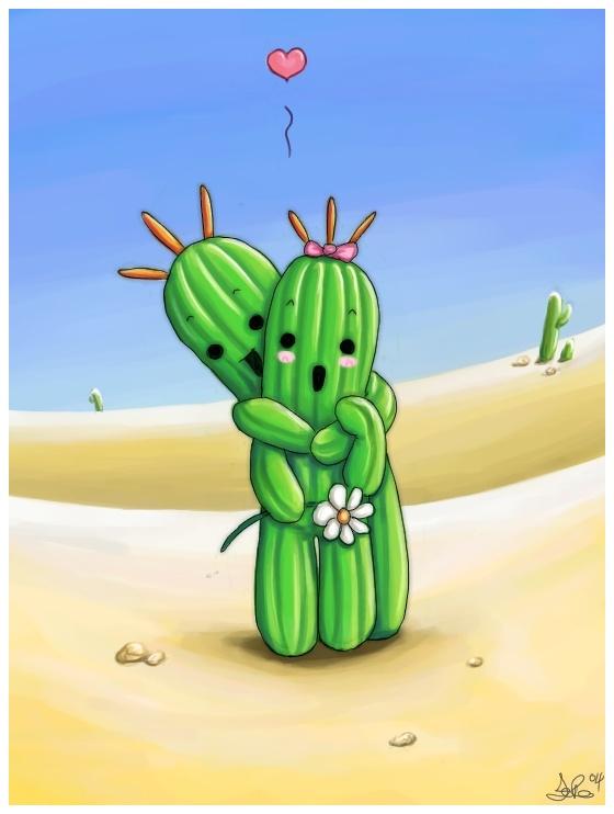 Смешная картинка кактуса