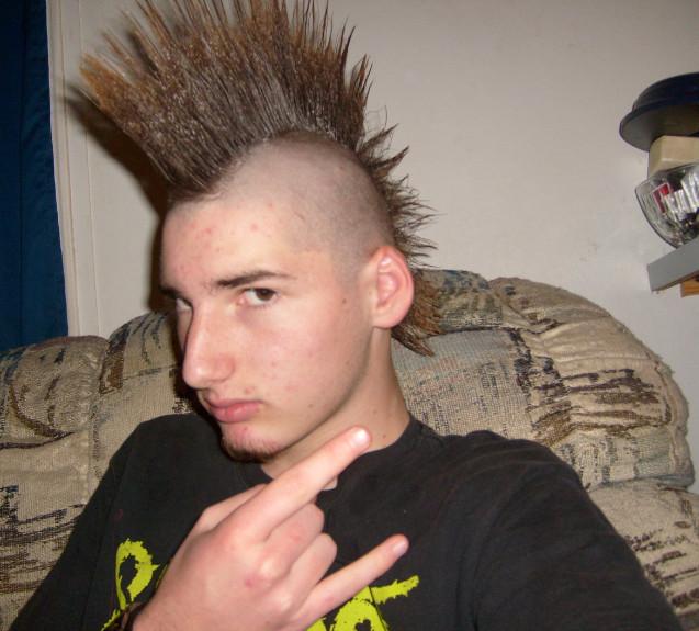 punk rocker hairstyles