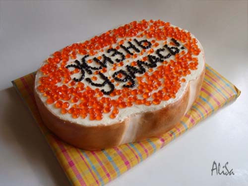 торт бутерброд фото