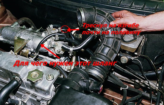 Фото №7 - масло в воздушном фильтре ВАЗ 2110 8 клапанов
