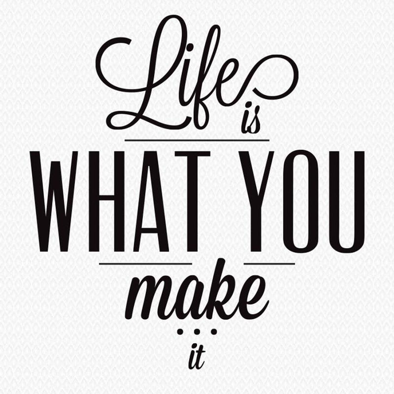 an analysis of life is what you make of it by ayesha shahid The second book by shenoy, life is what you make it, was published on 1 january 2011 and became a national bestseller the book has also featured in the top books of 2011, a nielsen list, which is released by the hindustan times.