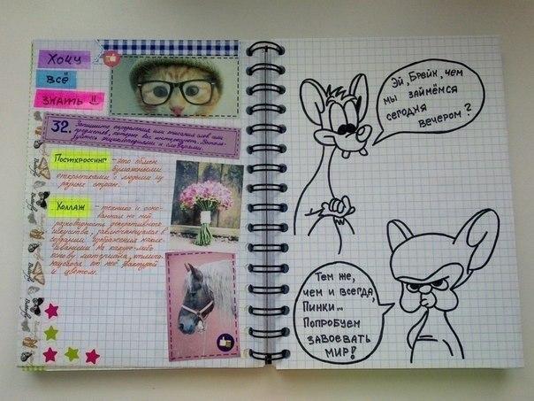 Оформление Личного Дневника Знакомство