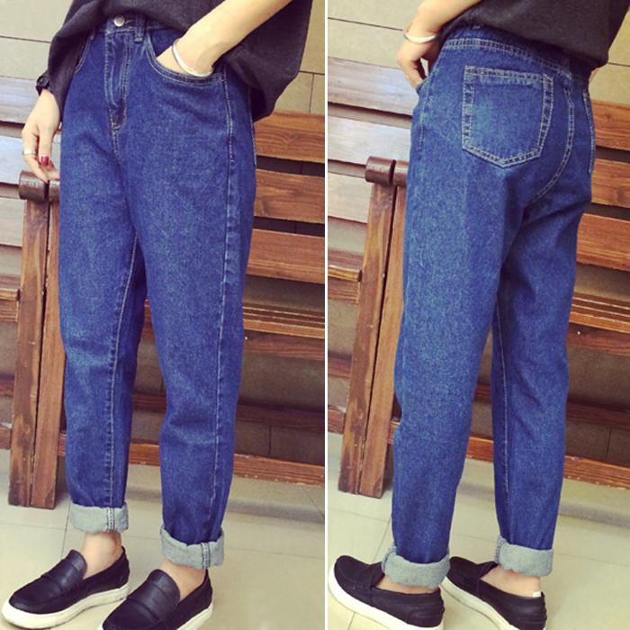 джинсы широкие женские с чем носить