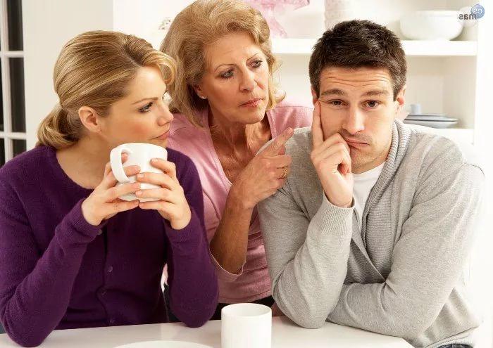 муж не разговаривает с родителями как быть