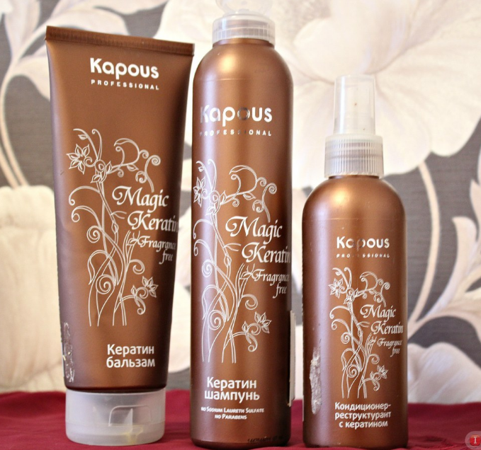 Кератиновое выпрямление волос шампунь без сульфатов