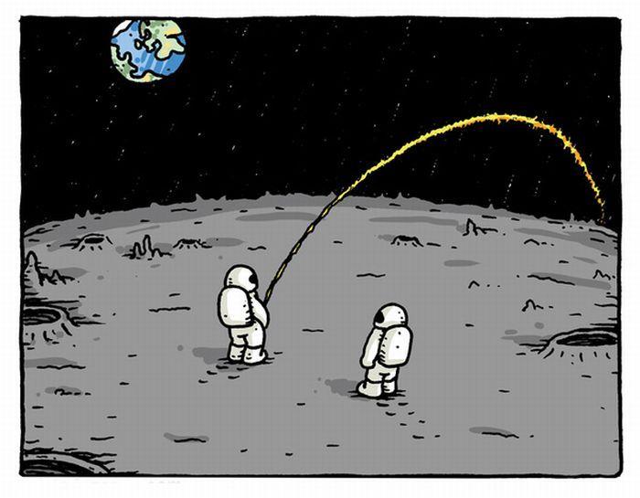 Приколы на луне картинка