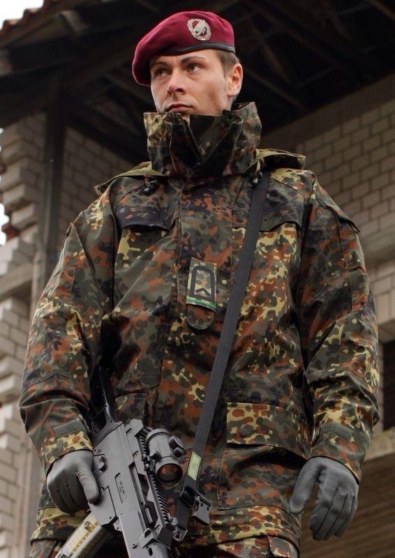 Армейские зимние парки бундесверастарого обрасца другому свою