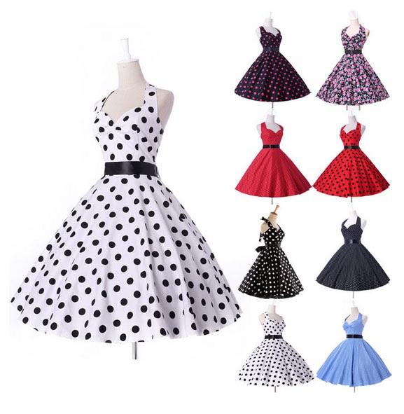Платья в ретро стиле выкройка