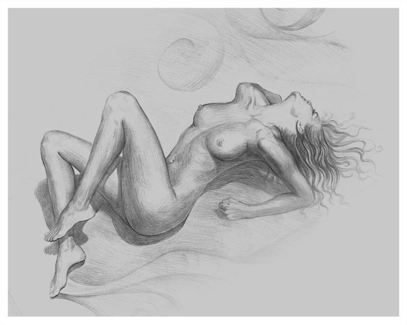 Рисунок голая девушка 31143 фотография