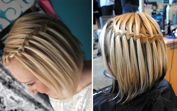 косички на волосы фото короткие волосы