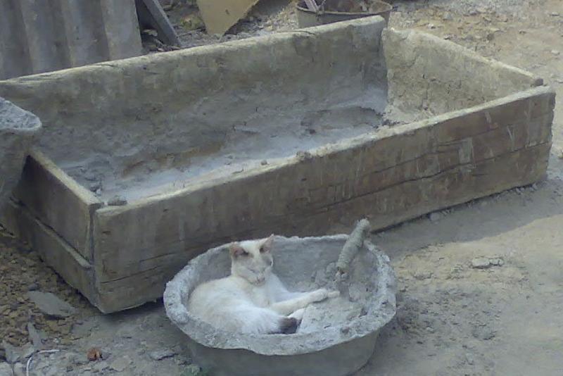 ванна для замеса бетона