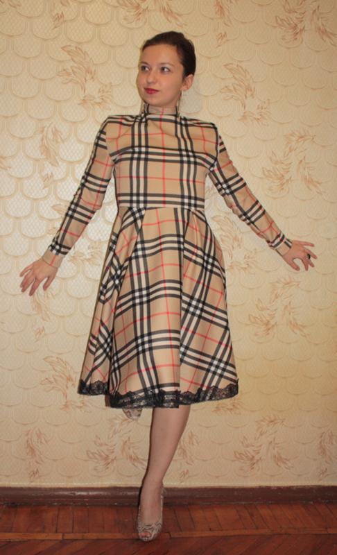 Как сшить платье из ткани стрейч