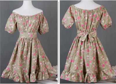 Платье крестьянка бурда