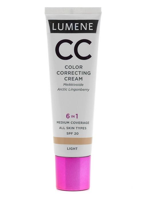 Тональный крем lumene cc color correcting cream