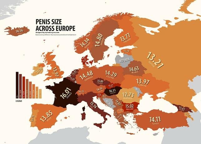 Среднийразмер пениса в украине
