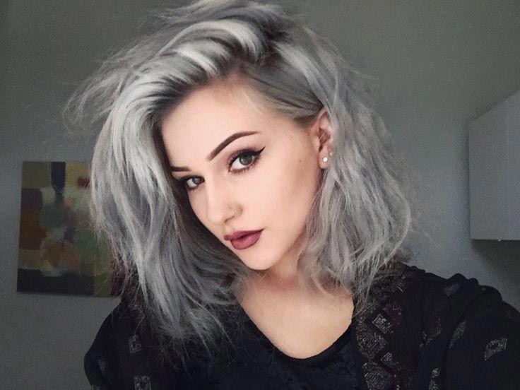 Как покрасить волосы в серый цвет? Что для этого нужно знать?