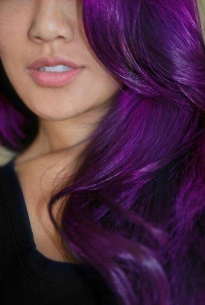 Где купить краску для волос фиолетовую