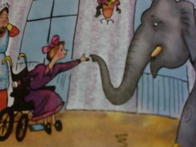 Рассказ слон с картинками