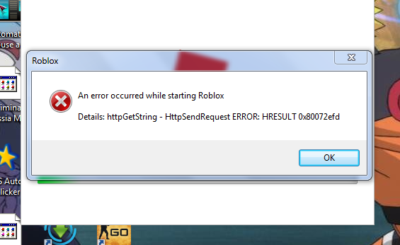 Roblox Error Hresult 0x80072efd Free Kids Robux Generator No Verification