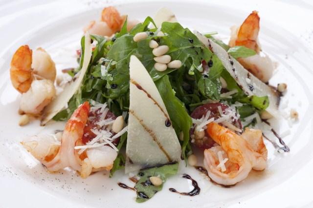 Рецепты салатов с рукколой фото