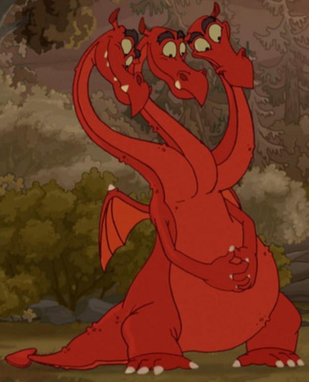 пот как нарисовать змей горыныча 3 богатырей задачи, которые должно
