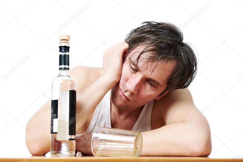 В тот момент, когда сомневался, стал пьянеть, но взял себя под контроль.