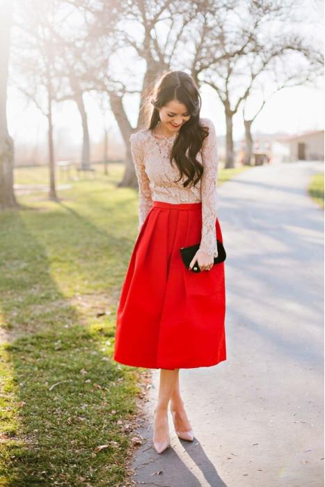 Из какой ткани лучше сшить юбку солнце