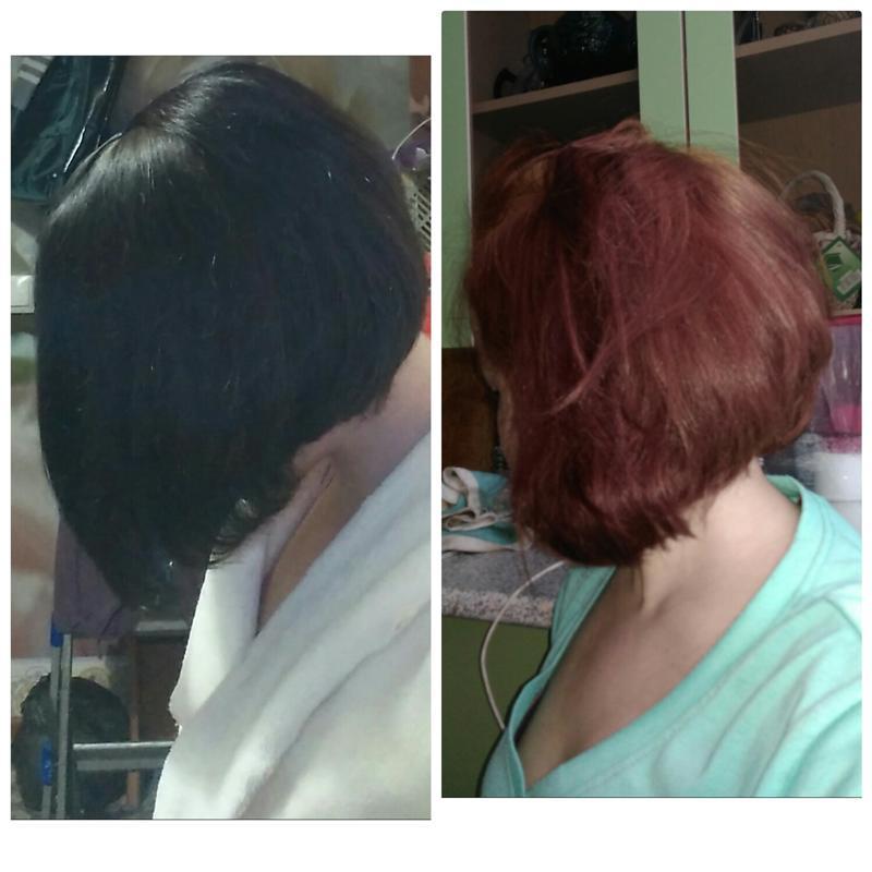 Что будет если черные волосы осветлить