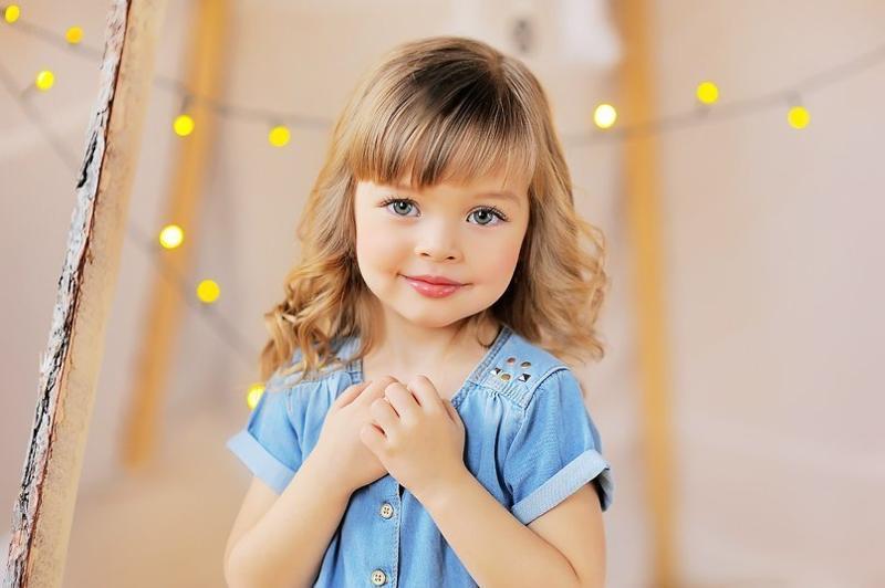 Сейчас этой девочке 7 лет и она очень красивая.
