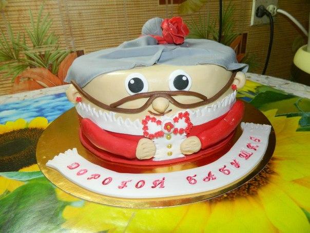 Торт для бабушки своими руками на день рождения 337