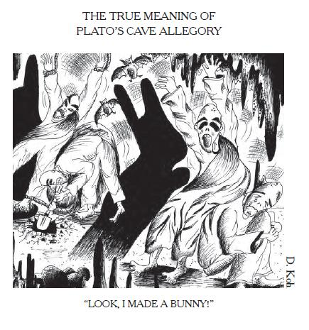 the two forms of vision in the allegory of the cave by plato