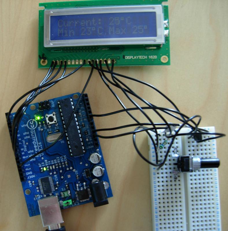 Arduino - Ultrasonic distance sensor - Goodliffe