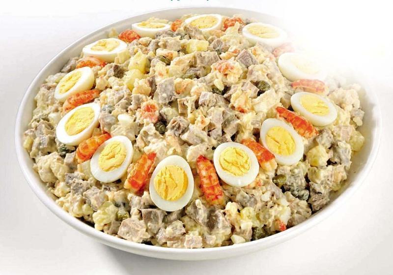 Салат с перепелиными яйцами рецепты фото