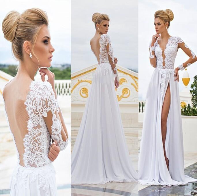 Фото сексуальные свадебные платья 57316 фотография