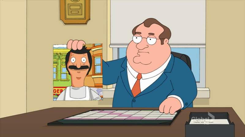 Family Guy  Carl Impersonates Bob Belcher and Archer